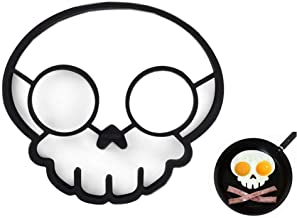 Ocharzy Silicone Fried Egg Mold Cooking Tool (Skull Shaped)
