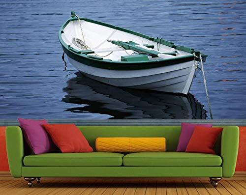 Foto papel tapiz moderno pesca en el mar canotaje sofá TV fondo pared KTV bar hotel 3D HD personalizado mural wallpaper-300 * 210 cm