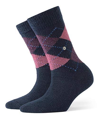 BURLINGTON Damen Socken Whitby - Warm Und Weich, 1 Paar, Blau (Navy 6156), Größe: 36-41
