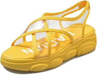 BalaMasa Womens ASL06751 Pu Platform Heels