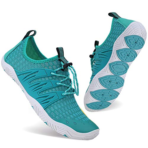 WXDZ Water Shoes for Men and Women Barefoot Quick-Dry Aqua Sock Outdoor Athletic Sport Shoes for Kayaking, Boating, Hiking, Surfing, Walking