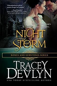 Night Storm (Bones & Gemstones Book 1) by [Tracey Devlyn]