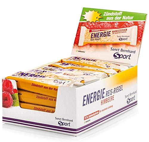 Sanct Bernhard Sport Energie Reis-Riegel Himbeere 20er-Pack