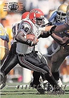 Marshall Faulk football card (University San Diego State Aztecs) 1994 Pacific Crown #426 Rookie