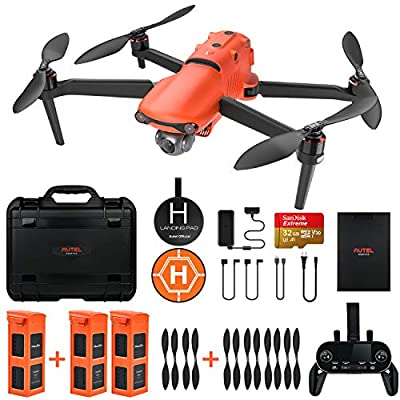 Autel Robotics EVO 2 Drone 8K HDR Video for Professionals Rugged Bundle with £398 Value Accessories Kit