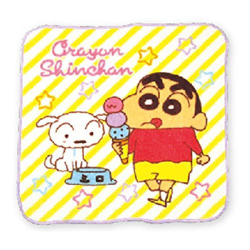 クレヨンしんちゃん ミニタオル アイスクリーム