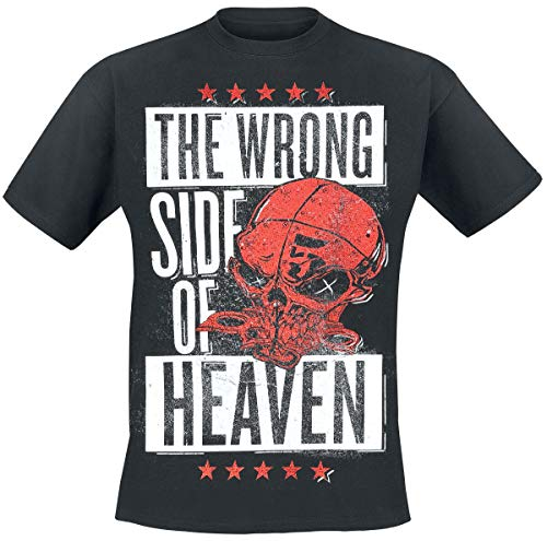 Five Finger Death Punch The Wrong Side of Heaven - The Righteous Side of Hell Homme T-Shirt Manches Courtes Noir M