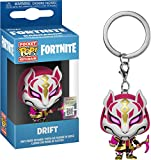 Funko- Keychain Pocket Pop Fortnite Drift Figura Coleccionable, Multicolor, Estándar (36978)
