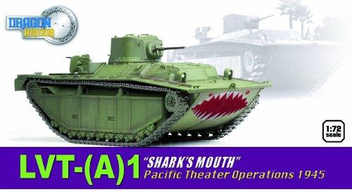 Dragon Models - 1/72 - Modélisme Ferroviaire - LVT-(A) 1 - Pacific Theater Operation 1945