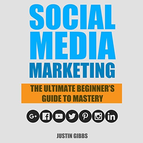 Social Media Marketing audiobook cover art