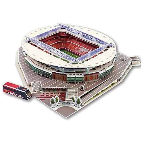 3D Football Stadiums Intelligent Puzzle (Emirates Stadium)