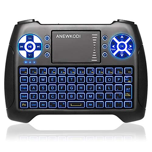 Our #4 Pick is the ANEWISH Mini Wireless Keyboard
