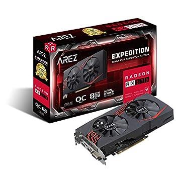 ASUS Expedition Radeon RX 570 8GB OC Edition Gaming GDDR5 DP HDMI DVI VR Ready AMD Graphics Card  EX-RX570-O8G