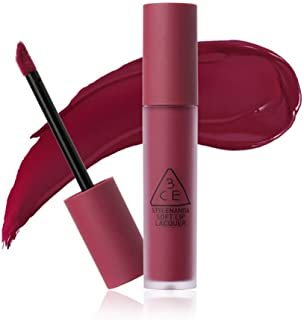 3CE New Soft Lip Lacquer 6g #MIDNIGHT BOTTLE Deep Purple Red Color Long lasting Tint