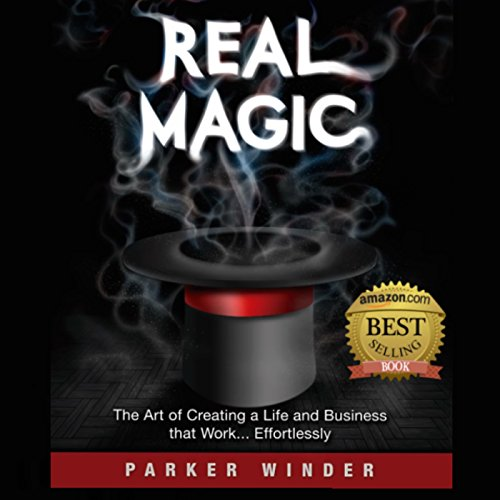 Real Magic audiobook cover art