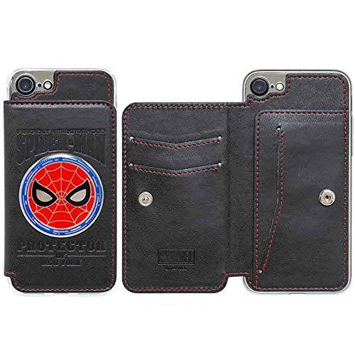 Cover posteriore in metallo con personaggio Avengers per Apple iPhone 6/iPhone 6s (Spider Man)