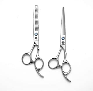 Hair Cutting Scissors Set, Professional Barber Thinning Haircut Scissors Kit-Barber Tools Perfect for Hairdresser