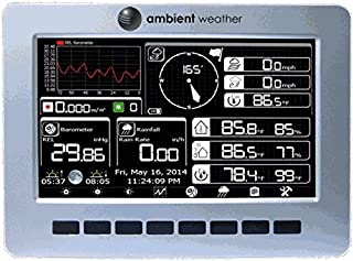 Ambient Weather WS-1200-CONSOLE Console for WS-1200 Series Wireless Weather Station (Console Only)