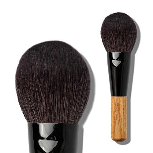 Poignée en bois Fine Light Peak Wool Powder, Make-Up Powder Brush