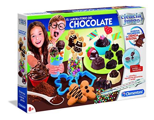 Clementoni-55296 - El Laboratorio del Chocolate - juego científico a