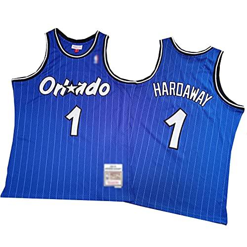 ZRBP # 1 Magic Haroaway Uniformes de Baloncesto para Hombres, Uniformes de Equipo, Camisetas Deportivas, Chalecos, Blusas sin Mangas, Letras y números Personalizados suel XXL