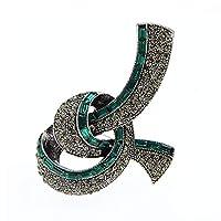 女性のための の美しい弓のブローチ冬のヴィンテージ蝶結びピン利用可能な高品質
