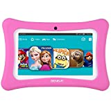 Tablets for Kids, Andriod 7.1 Edition Tablet with 1GB RAM 8GB ROM and WiFi, Kids Software iWawa Pre-Installed (Pink)
