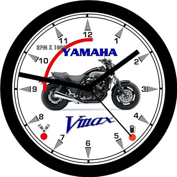 YAMAHA VMAX MOTORCYCLE WALL CLOCK Free USA Ship