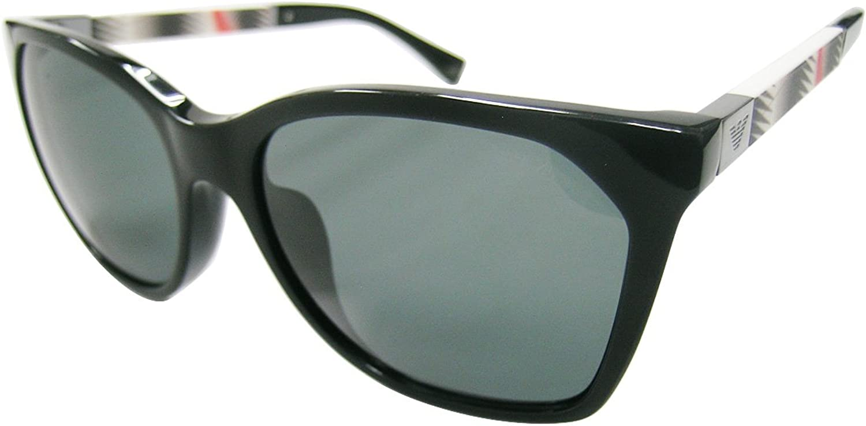 Armani EA4075F Sunglasses 50178757  Black Frame, Grey