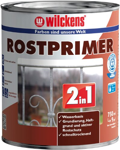 Wilckens 2-in-1 Rostprimer, 750 ml, rot / braun 11339000050