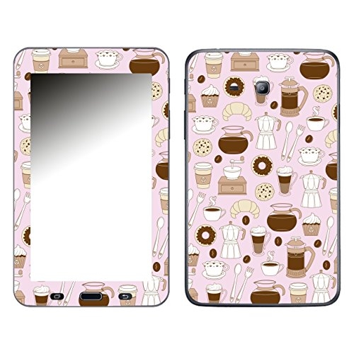 'Disagu 106720SF-650P SF 1151Protective Skins for Samsung Galaxy Tab 3Lite 7inch Tablet (T113)/Coffee Motif 04- klar