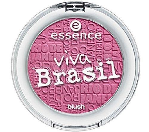Essence viva Brasil blush 01 I LOVE BRASIL, Fard à joues pour un teint frais et trendy, 5g