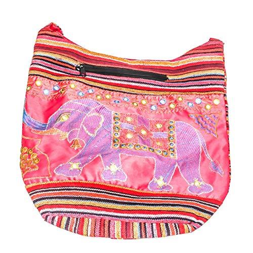 Divine Products India Indian Shoulder Bag Vintage Hand Zari Embroidered Women Bag Traveling Handbag Cotton Fabric Messenger Antique,Valentine Day Gift