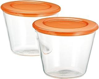 iwaki(イワキ) 耐熱ガラス プリン型 村上祥子のレンジで1分 150ml ×2個セット K904C-MU-2
