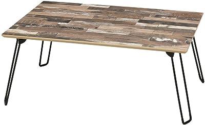 スクラップウッドテーブル(75) NK-652-BR