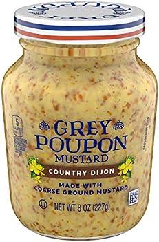 Grey Poupon Country Dijon Mustard (8oz Jar)