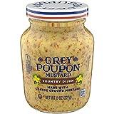 Grey Poupon Country Dijon Mustard (8 oz Jar)