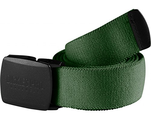 Dickies Pro Gürtel mit Schnellverschluss, Metallfrei, Lightweight, Stretch (Grün)