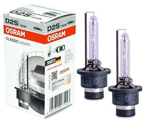 Osram 66240CLC Xenarc Original D2S - Bombillas de xenón para faros delanteros (2 unidades)