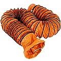 Mophorn 32ft Duct Hosing PVC Flexible Ducting Hose for 12inch Utility Blower Ventilation Fan Exhaust Fan