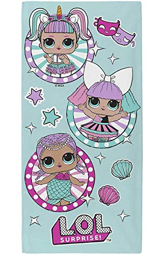 L.O.L. Surprise! Handtuch Baumwolle Tuch Mädchen LOL Dolls Spiel Teppich