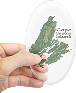 CafePress Cape Breton Oval Bumper Sticker, Euro Oval Car Decal