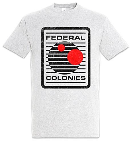 Urban Backwoods Federal Colonies Herren T-Shirt Grau Größe 5XL