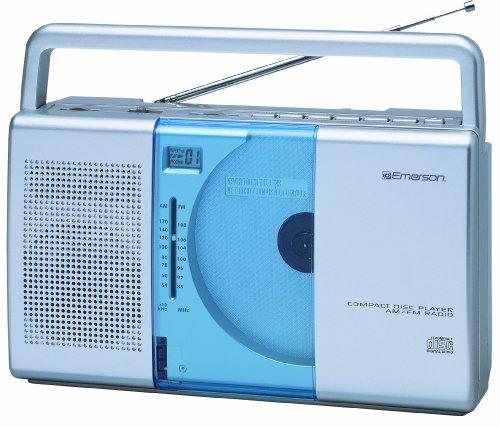 Emerson PD5098 Portable Radio CD Player