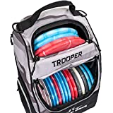 Dynamic Discs Trooper Disc Golf Backpack | Arctic Camo | Frisbee Disc Golf Bag with up to...