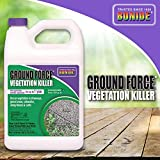 Bonide 5131 917348 Ground Force Non-Selective Vegetation Concentrate Killer, 1 Gallon, 1 gal, Brown/A
