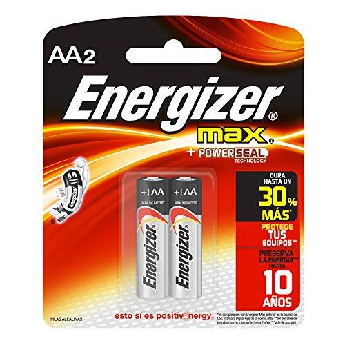 MAX Alkaline Batteries, 2 Batteries/Pack 2 Batteries/AA Battery
