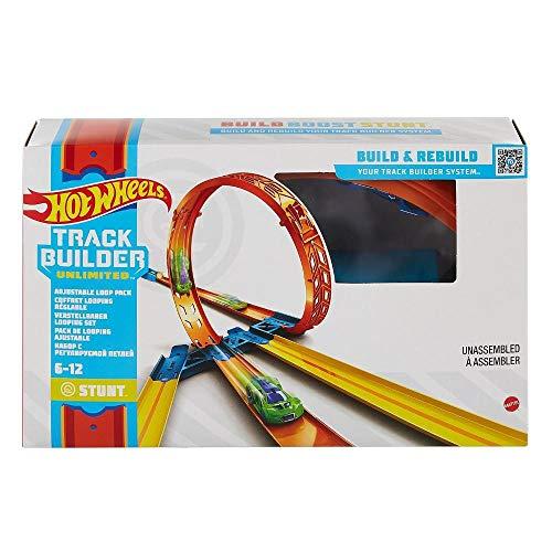 Pista de Carrinhos Hot Wheels - Kit de Looping - Track Builder - Mattel