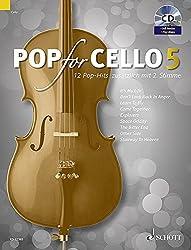 Pop for cello Volume 5 +CD --- 1 ou 2 violoncelles