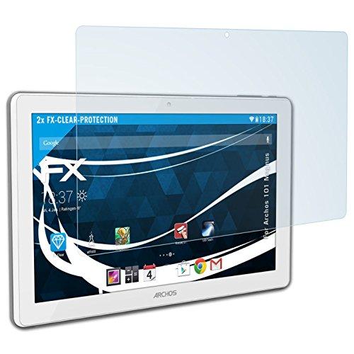 atFolix Schutzfolie kompatibel mit Archos 101 Magnus Folie, ultraklare FX Bildschirmschutzfolie (2X)